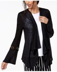 INC International Concepts - I.n.c. Crochet-sleeve Linen Cozy, Created For Macy's - Lyst