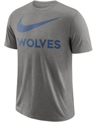 f32a417440e1 Lyst - Nike Men s Swoosh Legend Team T-shirt in Gray for Men