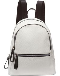 3674ec6fc1ad Lyst - Calvin Klein Lisa Novelty Backpack in Black