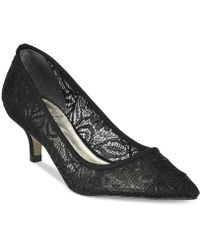 Adrianna Papell | Lois Lace Pointed-toe Pumps | Lyst
