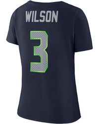 Nike - Russell Wilson Seattle Seahawks Player Pride 3.0 T-shirt - Lyst