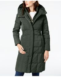 Cole Haan - Layered Down Puffer Coat - Lyst