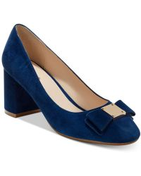 Cole Haan - Tali Bow Block-heel Pumps - Lyst