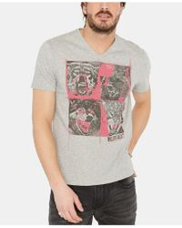 Buffalo David Bitton - Tiflora Graphic T-shirt - Lyst