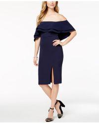 Bardot - Ruffled Off-the-shoulder Dress - Lyst