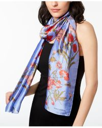 Vince Camuto - Floral Scarf - Lyst