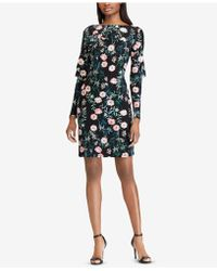 American Living - Floral-print Layered Dress - Lyst
