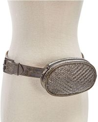 Steve Madden - Studded Chevron-quilted Fanny Pack - Lyst