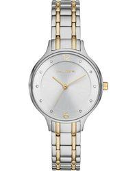 Skagen - Women's Anita Two-tone Stainless Steel Bracelet Watch 30mm Skw2321 - Lyst