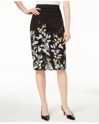 Alfani - Printed Scuba Skirt, Created For Macy's - Lyst