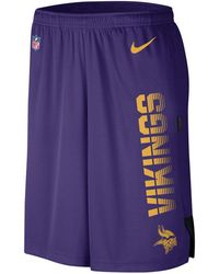 118dfdca Nike Men's Minnesota Vikings Dri-fit Fly Xl 3.0 Shorts in Purple for ...