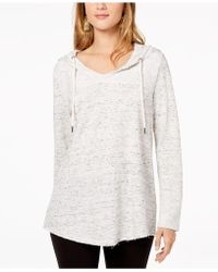Style & Co. - Shirttail-hem Hoodie - Lyst