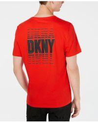 DKNY - Logo T-shirt - Lyst
