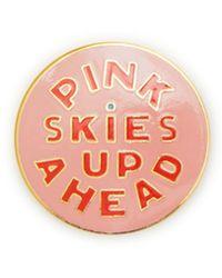 Ban.do - Pink Skies Up Ahead Enamel Pin - Lyst