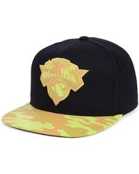 official photos 3c0c1 41da1 Mitchell   Ness Carat Brooklyn Nets Snapback Cap in Black for Men - Lyst