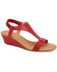 Alfani - Vacanzaa Wedge Sandals, Created For Macy's - Lyst