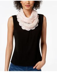 INC International Concepts - I.n.c. Floral Lace Infinity Scarf, Created For Macy's - Lyst