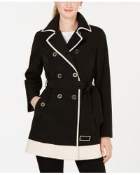 Laundry by Shelli Segal - Double-breasted Trench Coat - Lyst