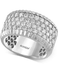 Effy Collection   Diamond Ring (1-1/2 Ct. T.w.) In 14k White Gold   Lyst
