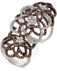 Le Vian - Diamond Knuckle Ring (2 Ct. T.w.) In 14k White Gold - Lyst