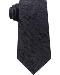 Michael Kors - Men's Satin Texture Paisley Silk Tie - Lyst