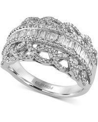 Effy Collection - Diamond Ring (1 Ct. T.w.) In 14k White Gold - Lyst