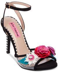 Betsey Johnson - Jamie Dress Sandals - Lyst