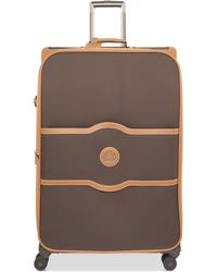 """Delsey - Chatelet Plus 24"""" Expandable Softside Spinner Suitcase With Suiter - Lyst"""