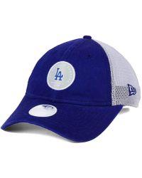 1479747a2fb Lyst - KTZ Los Angeles Dodgers Shimmer Shine 9twenty Cap in Blue