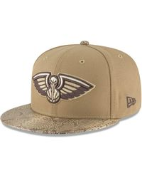 2ab2d3f8cab KTZ - New Orleans Pelicans Snakeskin Sleek 59fifty Fitted Cap - Lyst