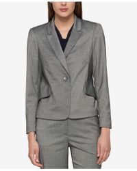 Tommy Hilfiger - Pinstriped One-button Jacket, - Lyst