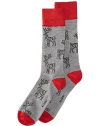 Alfani - Reindeer Socks, Created For Macy's - Lyst