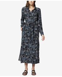Sanctuary - Summer In The City Maxi Shirtdress - Lyst
