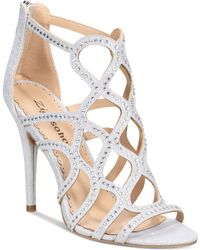 Bebe - Daliyah Caged Dress Sandals - Lyst