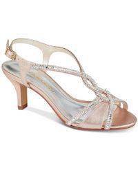 Caparros - Lilly Embellished Evening Sandals - Lyst