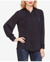 Vince Camuto - Collared Blouse - Lyst