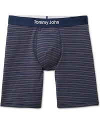 Tommy John - Cool Mitch Striped Boxer Briefs - Lyst
