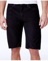 Ezekiel - Men's Bryce Slim-fit Stretch Denim Shorts - Lyst