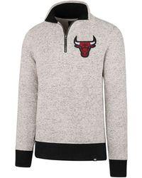47 Brand   Men's Kodiak Tonal Quarter-zip Pullover   Lyst