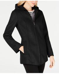 London Fog - Hooded Coat - Lyst