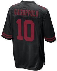 7339538dd4f Nike Men s Colin Kaepernick San Francisco 49ers Gridiron Jersey in ...