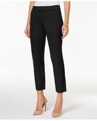 Charter Club - Cropped Straight-leg Pants - Lyst
