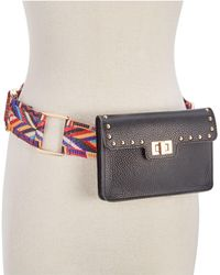 Steve Madden - Studded Turn-lock Belt Bag - Lyst
