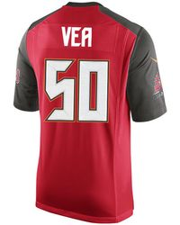 32f7a744e Nike Desean Jackson Tampa Bay Buccaneers Pride Name And Number Wordmark T- shirt in Red for Men - Lyst