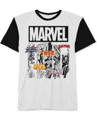 Jem - Men's Marvel Avengers Graphic-print T-shirt - Lyst