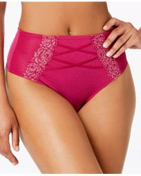 INC International Concepts - I.n.c. High-waist Lace Corset Thong, Created For Macy's - Lyst