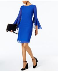 INC International Concepts - I.n.c. Bell-sleeve Dress, Created For Macy's - Lyst