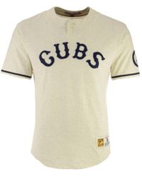 Mitchell & Ness - Chicago Cubs Sealed The Victory Henley T-shirt - Lyst
