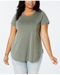 Celebrity Pink - Trendy Plus Size High-low Tunic - Lyst