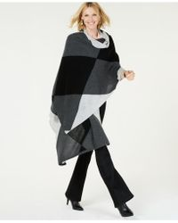 Charter Club - Pure Cashmere Argyle Oversized Scarf, Created For Macy's - Lyst